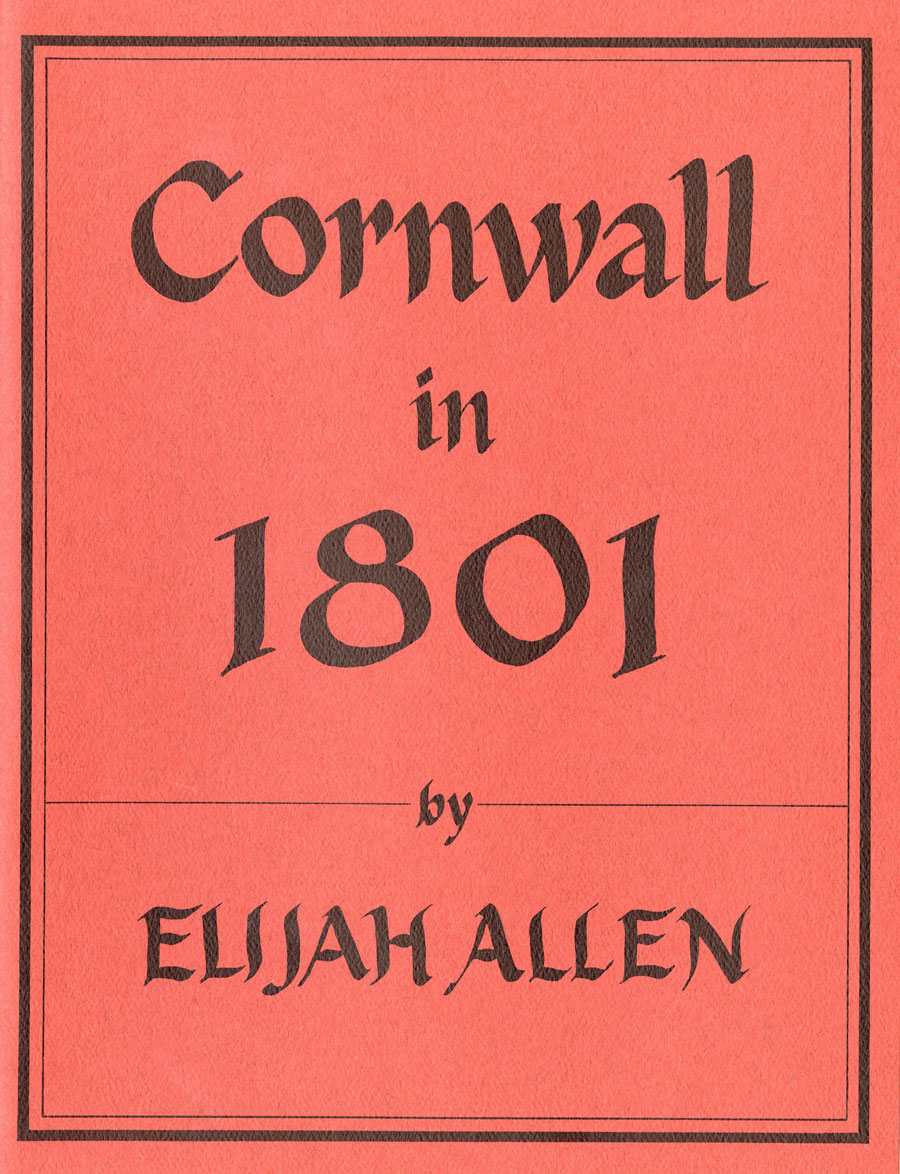Cornwall in 1801